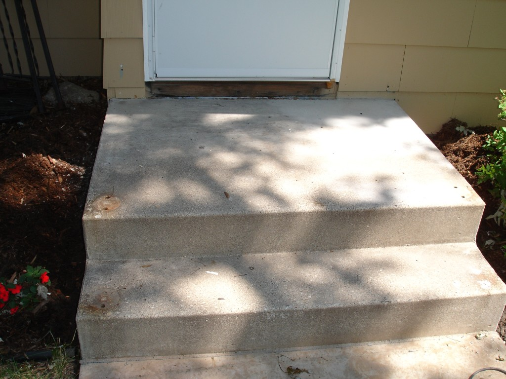 Concrete Steps Before Overlay