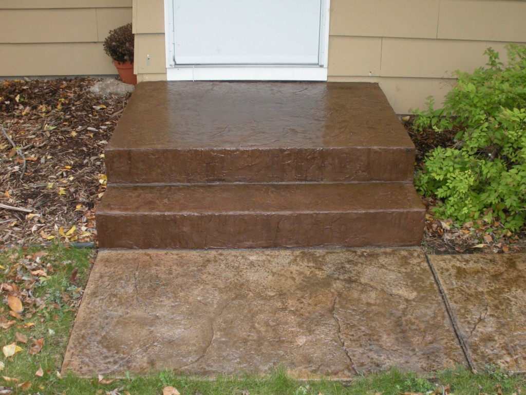 Concrete Steps Overlay